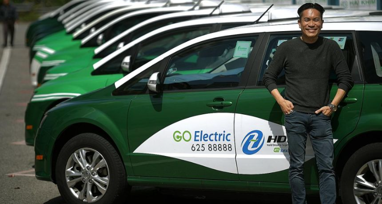 HDT Electric Taxi